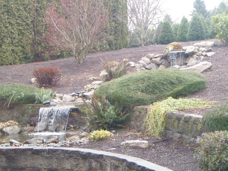 water feature install