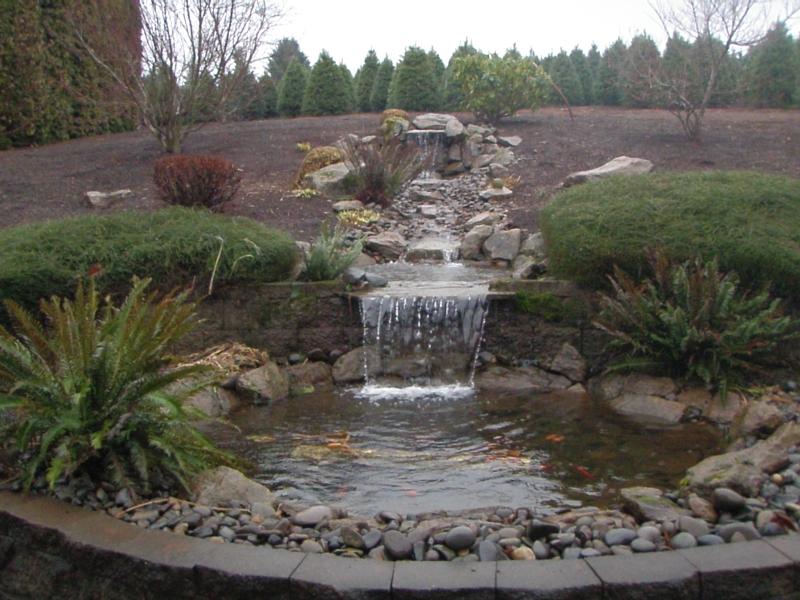 water feature installation 2